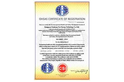 ECELEN OHSAS CERTIFICATE OF REGISTRATION